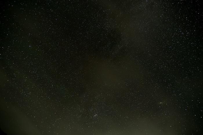 晴れ行く銀河大空