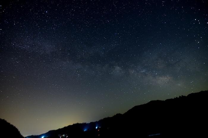 山里の銀河