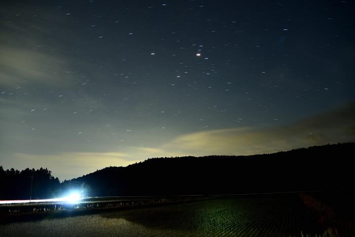深夜の光景